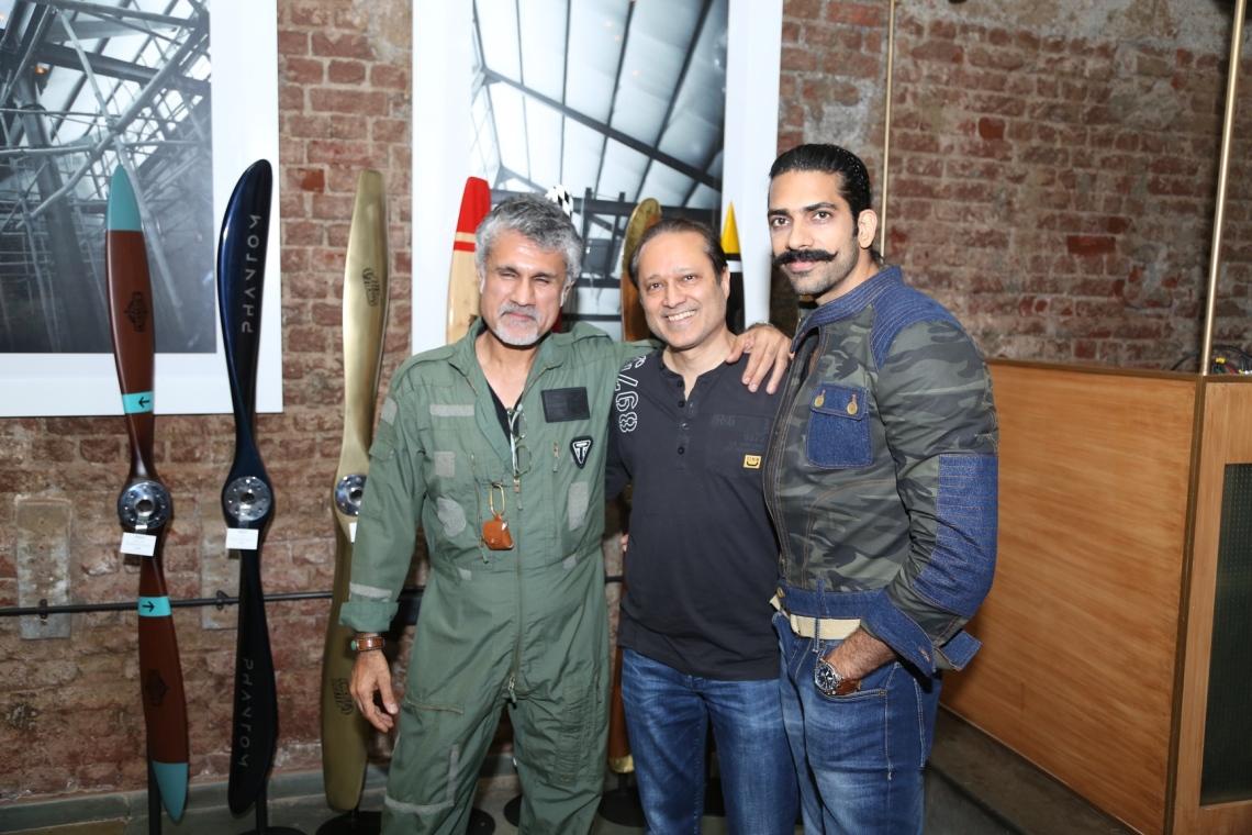 5- 'The Airmen Collective' by Arjun Khanna & Akshay Sharma (WoodFeather).JPG